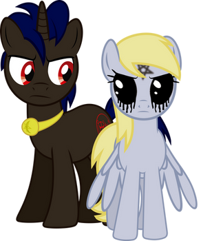 Amdusias and... Derpy?