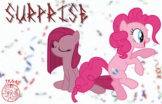 Surprise and Pinkie