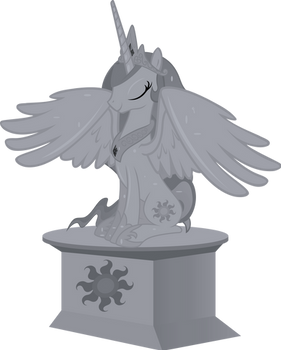 Celestia Statue (Diagnosis : Surprise)
