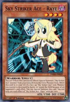 Sky Striker Ace - Raye (Pony version)