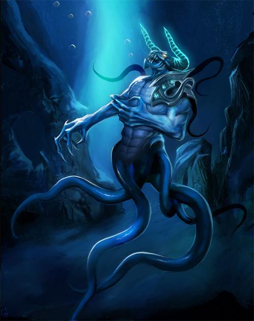 Fantasy water creatures - photo#2