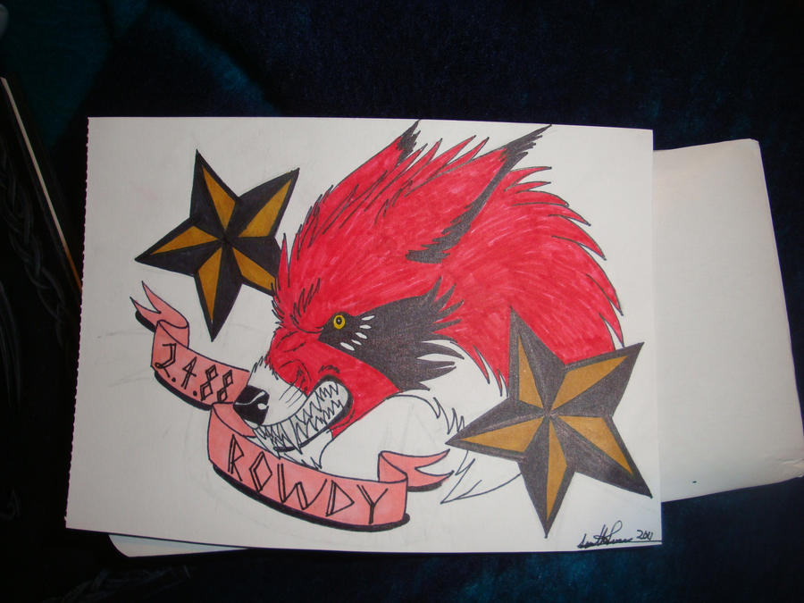 Rowdy tattoo gift by bittenwolf on deviantart for Gifts for tattoo artist
