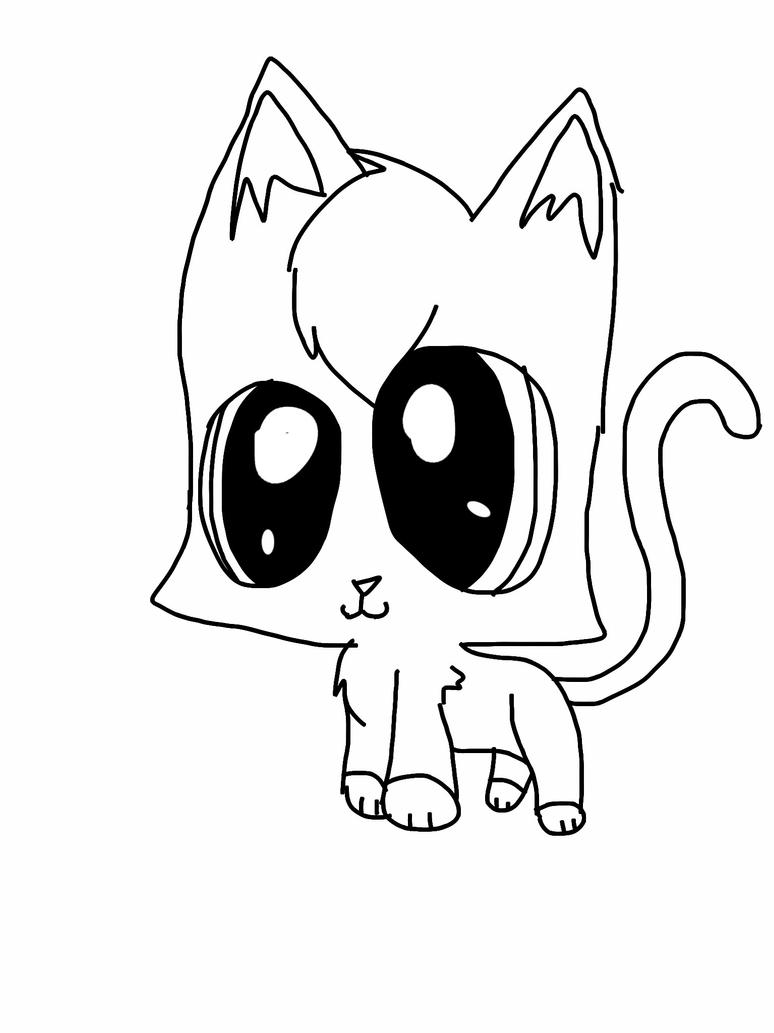 Lps Coloring Pages Shorthair Cat