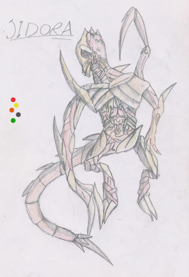 Halloween Design-Me-An OC Contest Entry: Jidora by Shadowpredator100