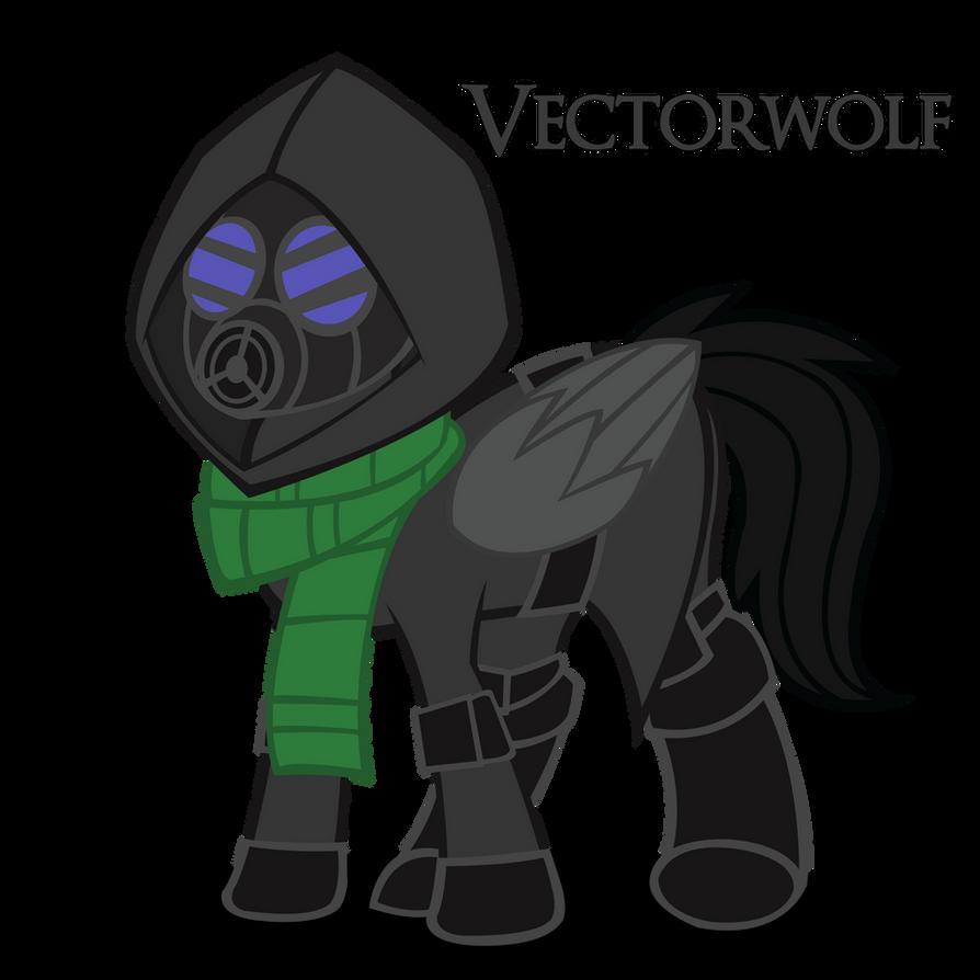 Vectorwolf by Shadowpredator100