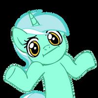 Shrugpony Lyra by MoongazePonies