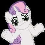 Shrugpony Sweetie Belle