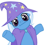 Shrugpony Trixie