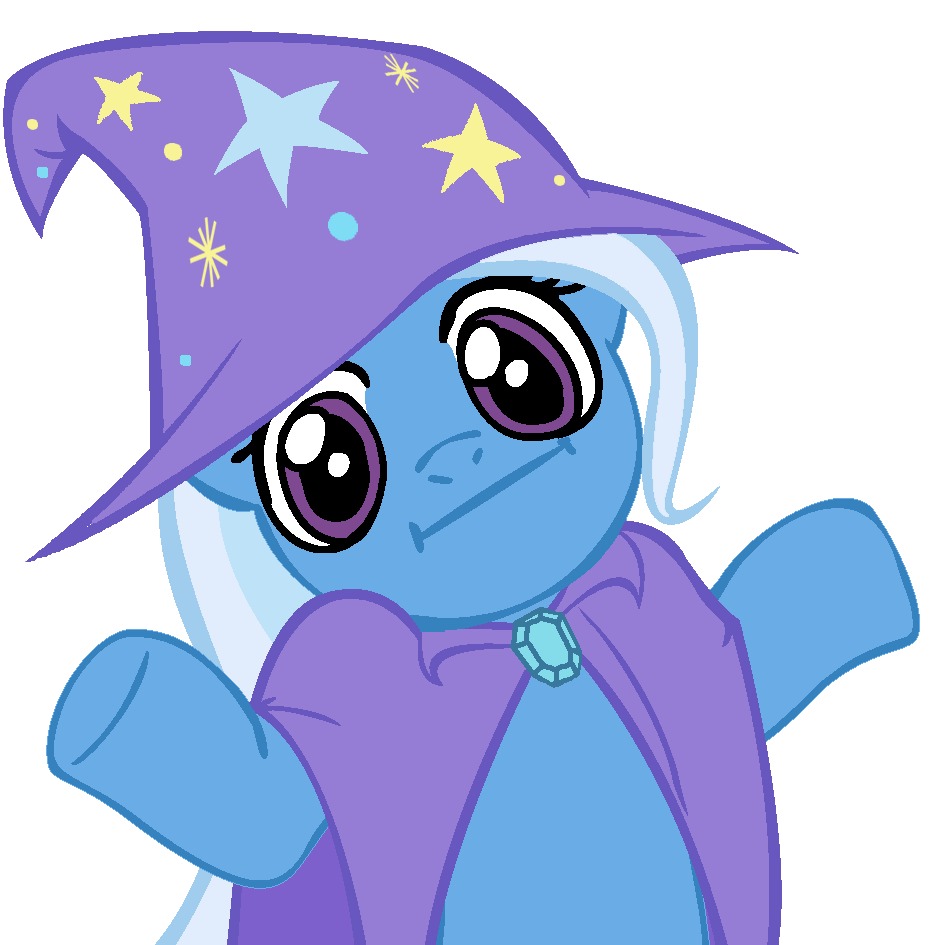 shrugpony_trixie_by_moongazeponies-d3cvk