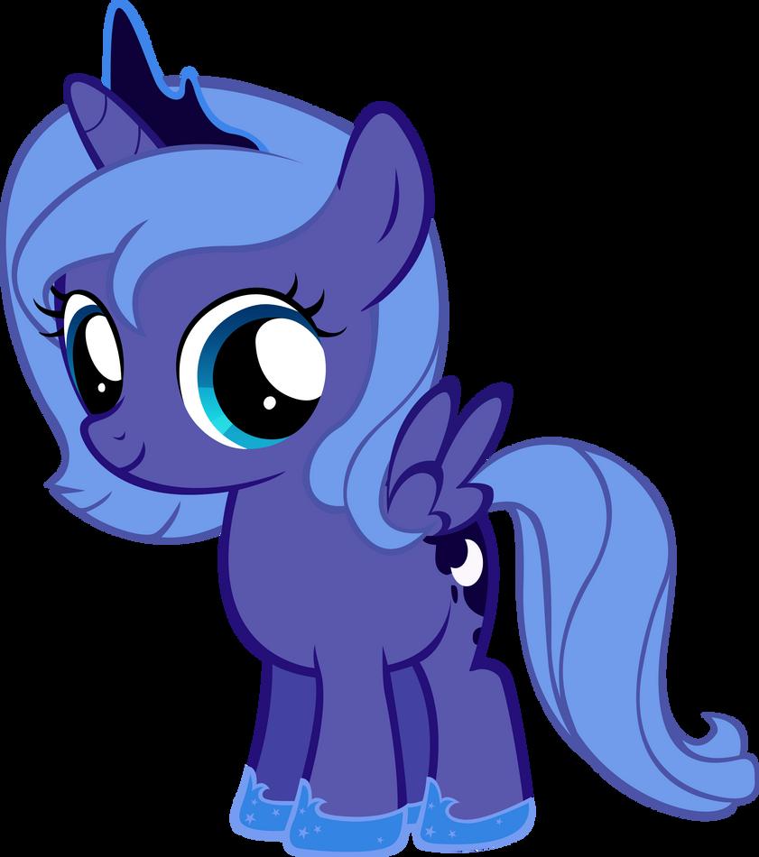 My little pony filly luna - photo#1