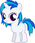 Vinyl Scratch Filly
