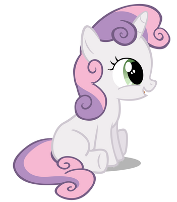 Sweetie Belle being adorable