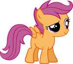 Quizzical Scootaloo