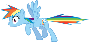 Rainbow Dash Freeze