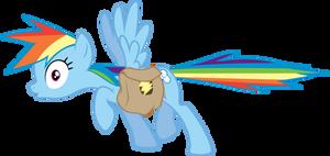 Rainbow Dash Freeze