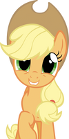 Applejack is Happy