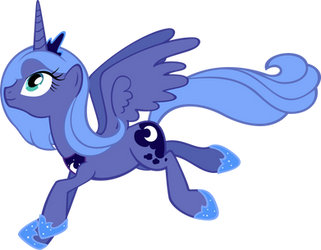 Leaping Luna by MoongazePonies