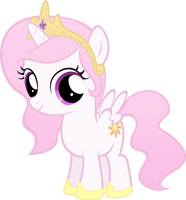 Celestia Filly, Except Pink
