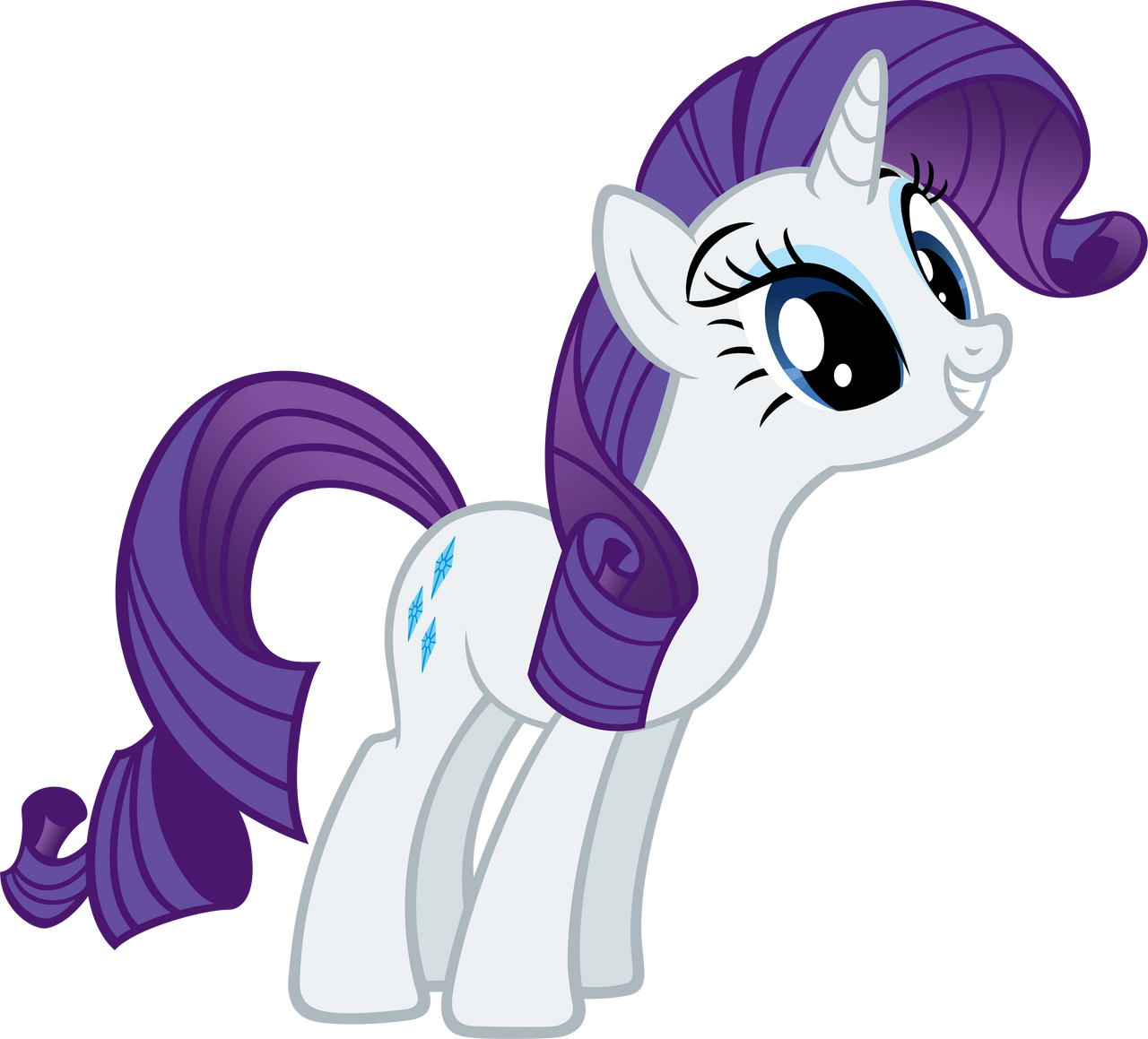 Rarity by MoongazePonies