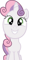 Sweetie Belle grin