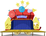 Trixie's Wagon Stage