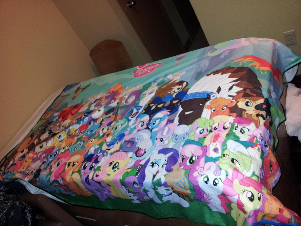 mlp blanket 2 by moongazeponies on deviantart