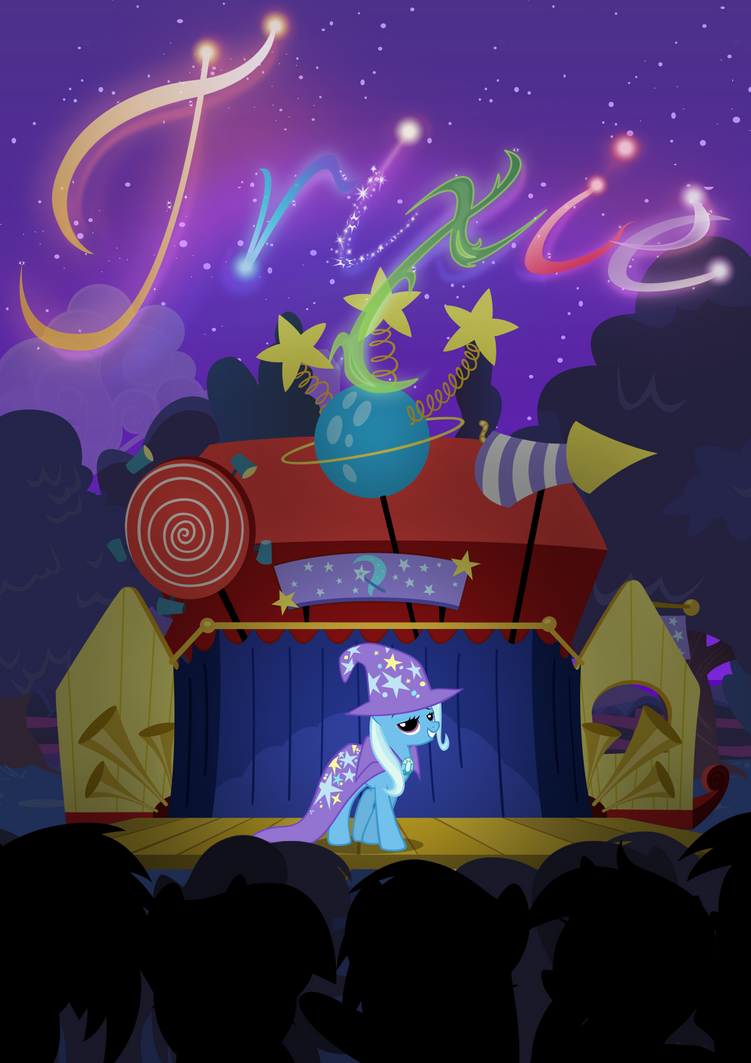 The Great And Powerful Trixie by MoongazePonies