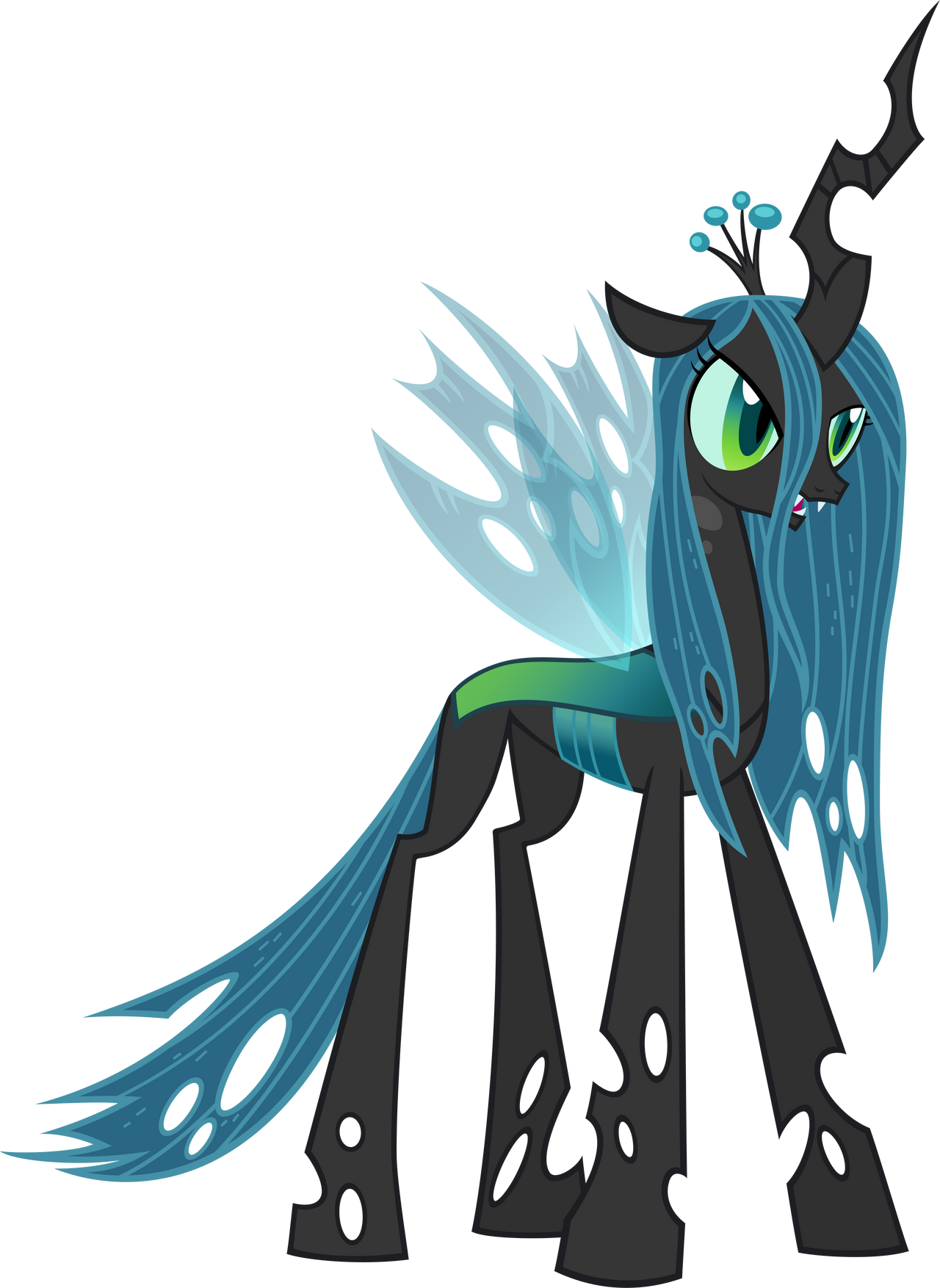 Queen Chrysalis by MoongazePonies on DeviantArt