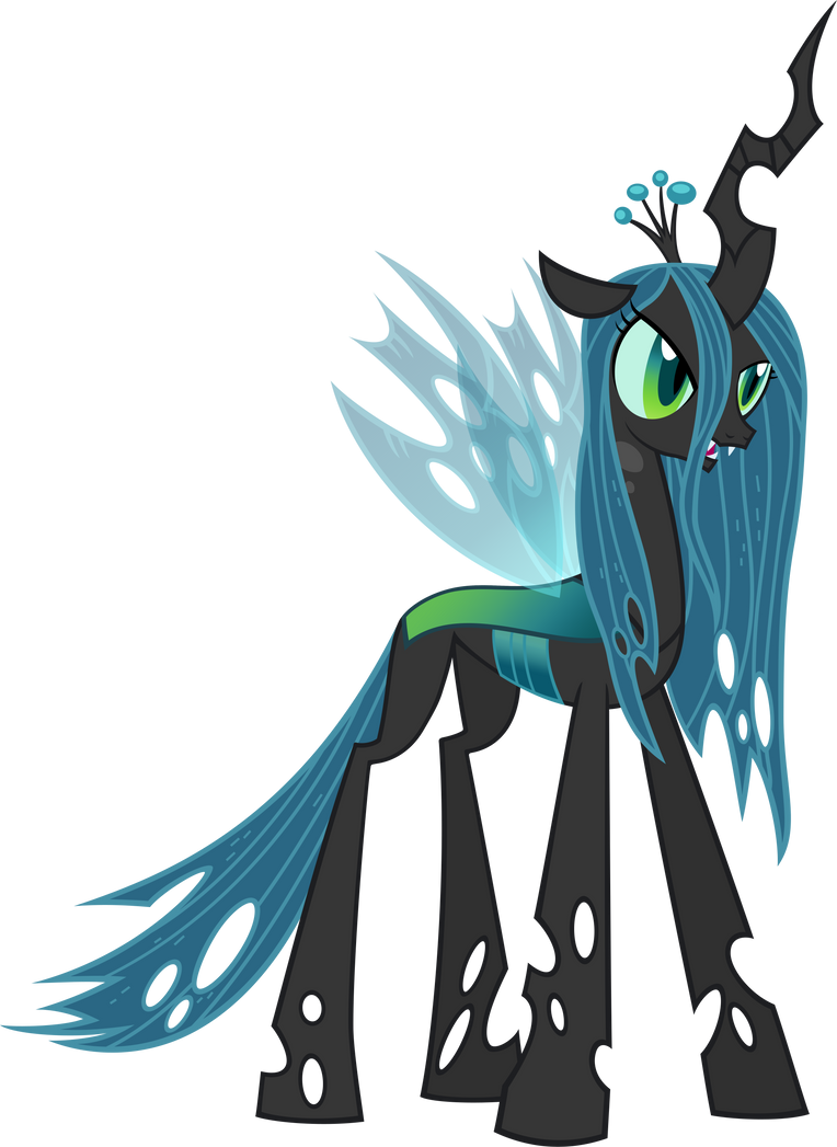 Queen Chrysalis by Moo...