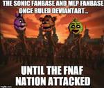 Until The FNAF Nation Attacked