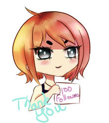 Thanks 100+ Followers by ViolentJade