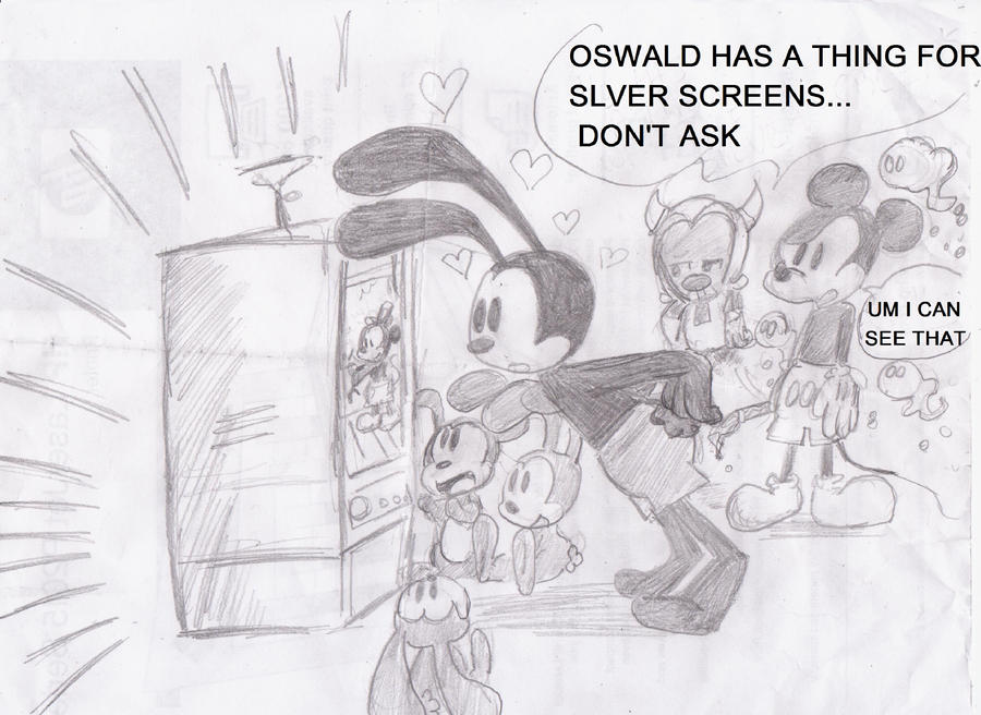 Oswald and the Silver Screen by dnxlightangel