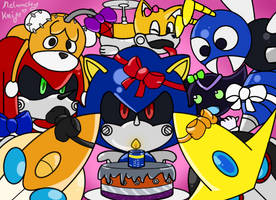 SonicRobos Art Week. Day 7: Happy Birthday