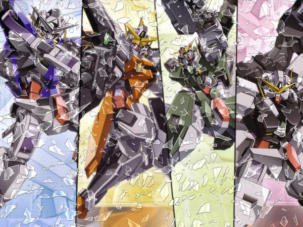 gundam 00 wallpaper. Gundam 00 - wallpaper previous