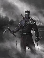 Bat Ninja by nibelwolf