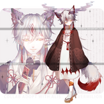 [VERMILION] Collab adopt with Alis [CLOSED] by AiriAdopts
