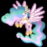 Princess Celestia by Nalesia