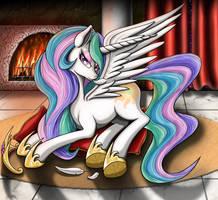 Princess Celestia 4 by Nalesia
