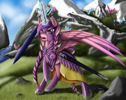 Princess Cadance by Nalesia