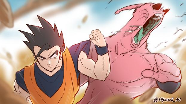 Dragon Ball Z - Gohan vs Buu