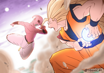 DRAGON BALL Z - Goku VS Buu