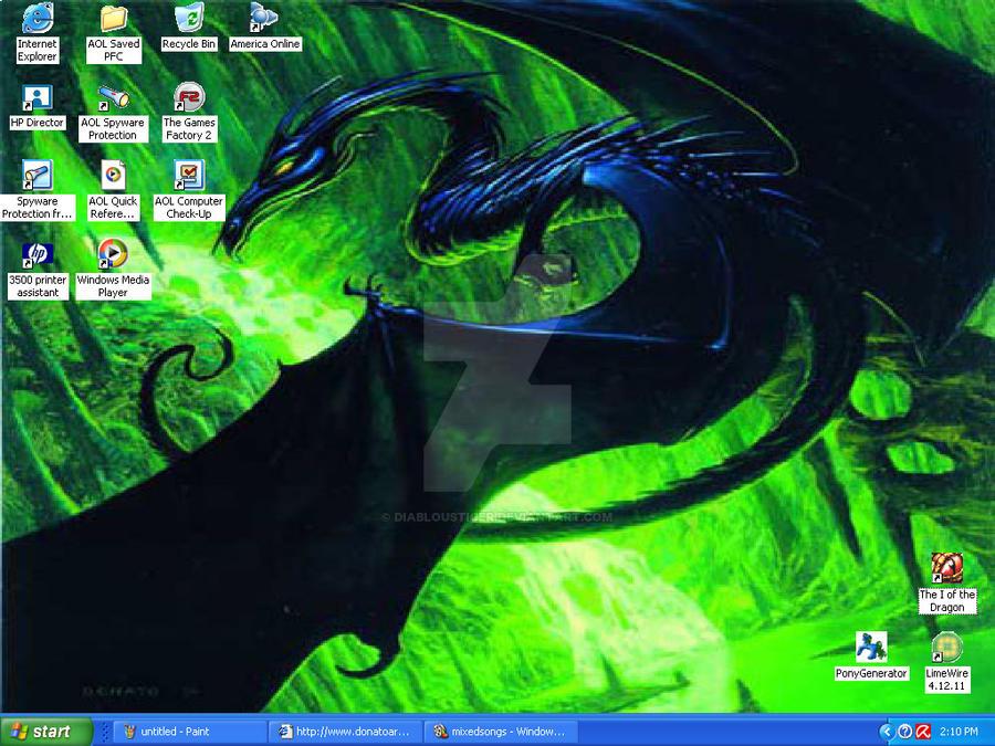 Desktop Screenshot by DiablousTiger