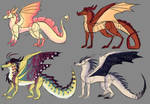 Color pallet adopts 2/4 open by TheCraftyDragonC