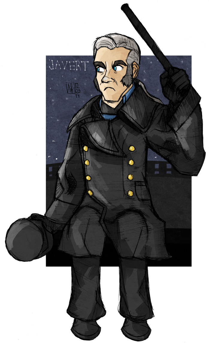 AND HE'S JAVERT by pepe-chaan