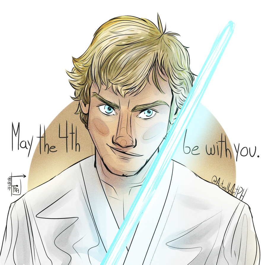 may the 4th be with you! by mostardx