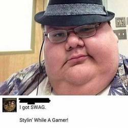 Real Life Peter Griffin's Gamer Cousin by shittypeter
