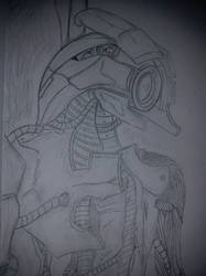 Legion from Mass Effect! Beep bep I am a Robot by Ifiyrin