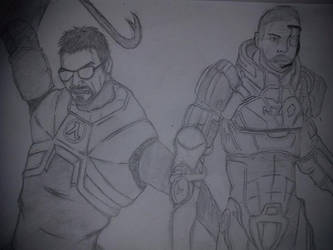 Shepard and Gordon! by Ifiyrin