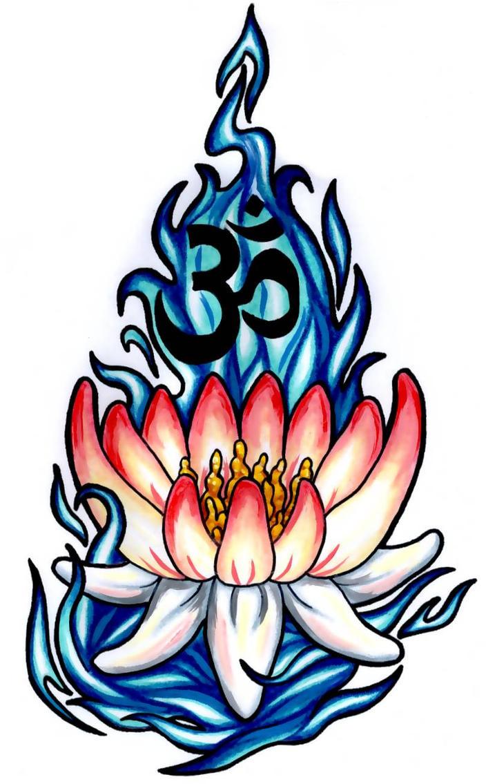 Lotus Tattoo. by ~Darttheold