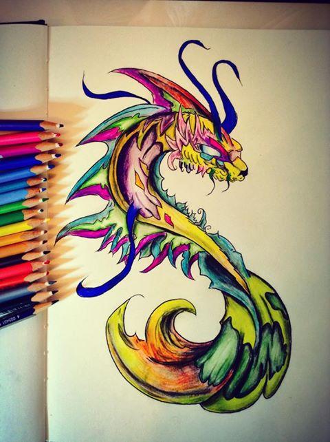 Dragon by Rainbow-Eagle-6 on DeviantArt